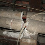 Pipe Lagging in poor condition